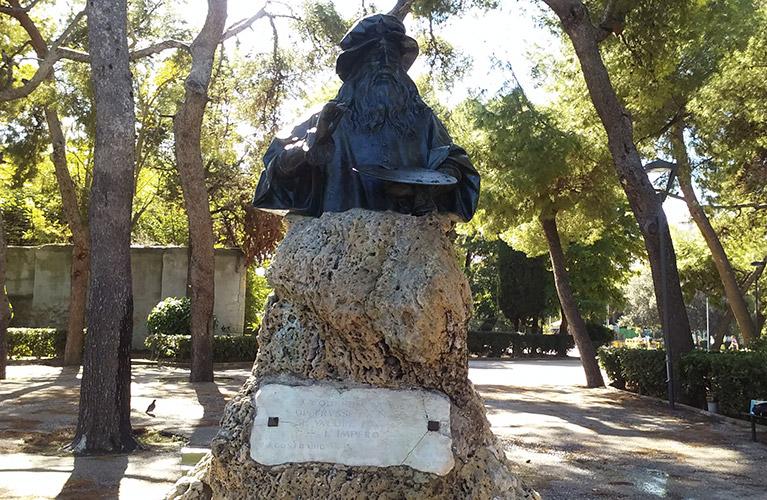 La vera storia del busto di Leonardo da Vinci a Taranto