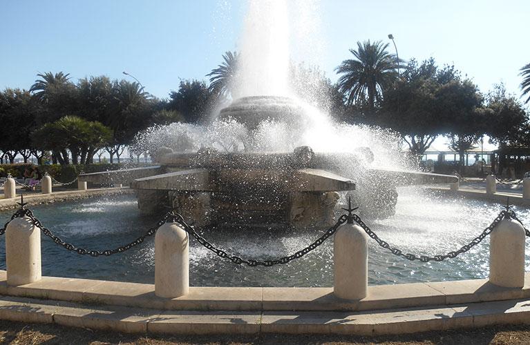 La fontana Rosa dei Venti, la più bella di Taranto