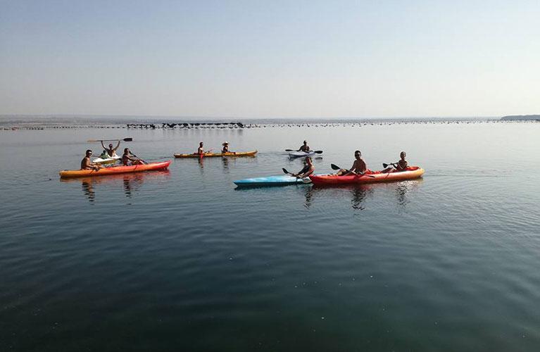 Escursione in canoa sul Mar Piccolo: un'esperienza meravigliosa